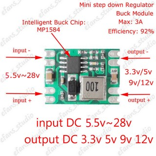 DC-DC Buck Step Down Converter Regulator Power Supply Module