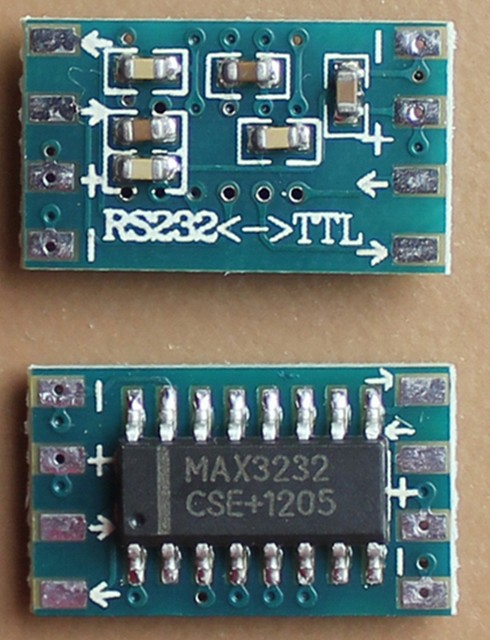 Mini RS232 To TTL MAX3232 Converter Adaptor Module Serial Port Board